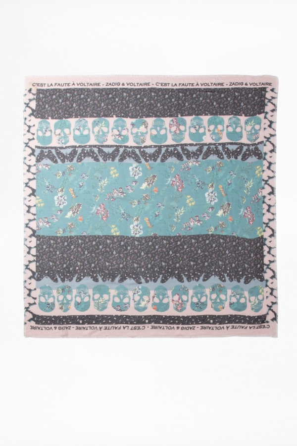 KERRY MULTI PRINT SCARF
