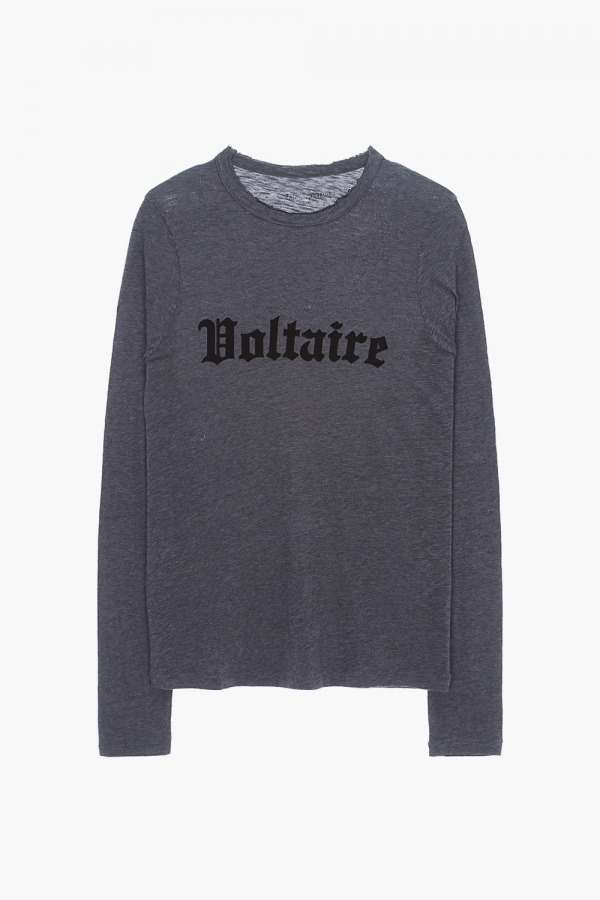 WILLY VOLTAIRE CHINE OVERDYED T-SHIRT
