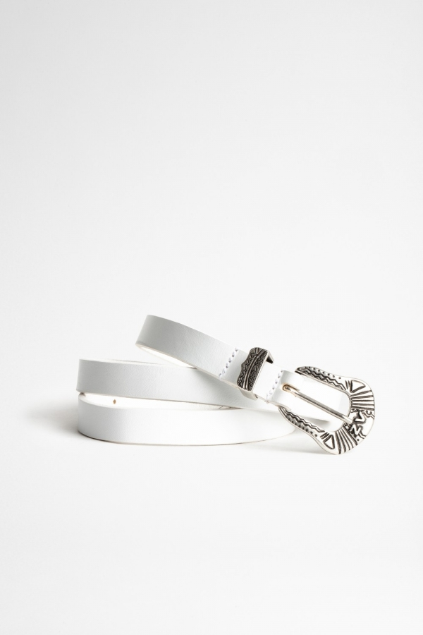 Alta Smooth Leather Belt